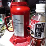 市販品を組み合わせて作る油圧プレス機