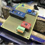 フライス盤自動送り装置 操作盤を製作