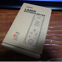 3000円のレーザー距離計買ってみた