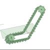 3Dプリンタでベルトコンベア作る